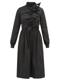 Hester bow-embellished taffeta coat dress at Matches