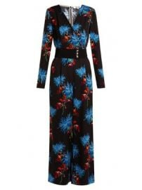 Hewes floral-print jumpsuit at Matches