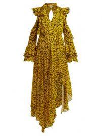 Heyford leopard-print silk-chiffon wrap dress at Matches