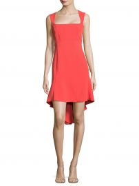 Hi-Lo Flounce Dress at Saks Fifth Avenue