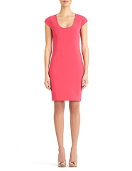 Hibiscus Scoop Neck Dress by Rachel Roy at Lord & Taylor