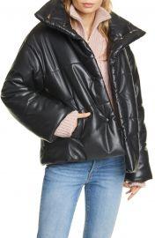 Hide Vegan Leather Puffer Jacket at Nordstrom