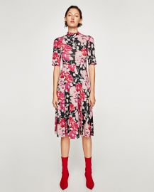High Neck Dress by Zara at Zara