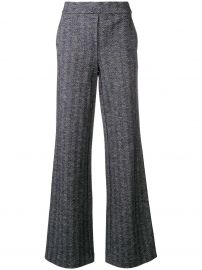 High Rise Palazzo Trousers  Theory at Farfetch