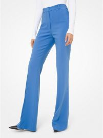 High-Waisted Flared Trousers by Michael Kors at Michael Kors