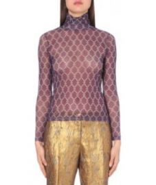 Hind Mesh Top by Dries Van Noten at Barneys