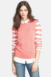 Hinge Mixed Pattern Sweater at Nordstrom Rack