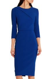 Hisley stretch-crepe dress at Net A Porter