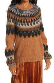 Hollis Fair Isle Sweater at Nordstrom