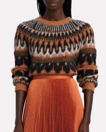 Hollis Fair Isle Sweater at Intermix