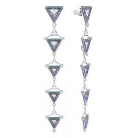 Hologram Pierced Earrings at Swarovski
