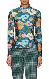 Homer Floral Mock Neck Top by Vivetta at Barneys