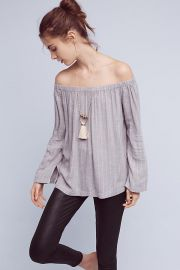 Homestead off the shoulder top at Anthropologie