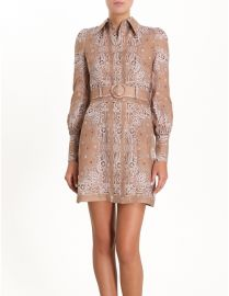 Honour Bandana Short Dress   HONOUR BANDANA SHORT DRESS at Zimmermann