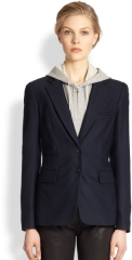 Hood Inset Blazer by Veronica Beard at Saks Fifth Avenue