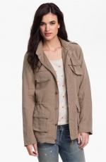 Hooded cargo jacket at Nordstrom