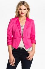 Hot pink blazer at Nordstrom at Nordstrom