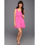 Hot pink sun dress at Zappos