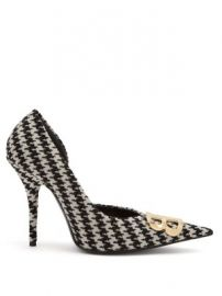 Houndstooth BB pumps at Matches
