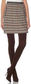 Houndstooth Skirt at The Limited