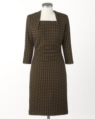 Houndstooth dress at Coldwater Creek