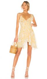 House of Harlow 1960 x REVOLVE Darma Dress in Saffron Floral from Revolve com at Revolve