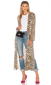 House of Harlow 1960 x REVOLVE Delaney Duster in Leopard from Revolve com at Revolve