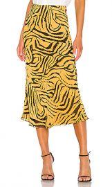 House of Harlow 1960 x REVOLVE Jodi Skirt in Orange Tiger from Revolve com at Revolve