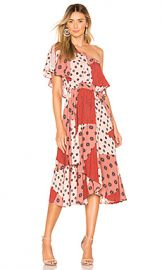 House of Harlow 1960 x REVOLVE Leya Dress in Rose Patchwork from Revolve com at Revolve