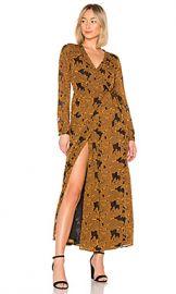House of Harlow 1960 x REVOLVE Margareta Dress in Mustard from Revolve com at Revolve