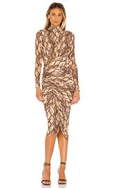 House of Harlow 1960 x REVOLVE Minka Midi Dress in Python Multi from Revolve com at Revolve