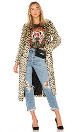 House of Harlow 1960 x REVOLVE Perry Faux Fur Coat in Leopard from Revolve com at Revolve