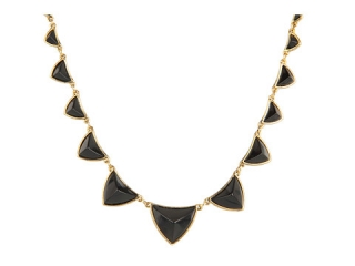 House of Harlow Pyramid Station Necklace at Zappos