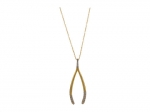 House of Harlow wishbone necklace at Zappos