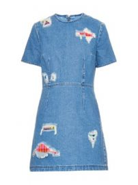 House of Holland Distressed Denim Dress at Matches