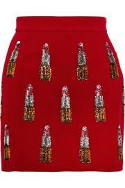 House of Holland Lipstick Skirt at Net A Porter