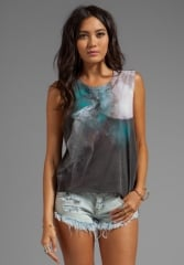 Howl at the moon tank by Chaser at Revolve