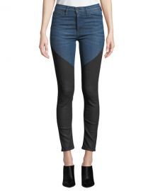 Hudson Barbara High-Rise Super Skinny Ankle Jeans at Neiman Marcus