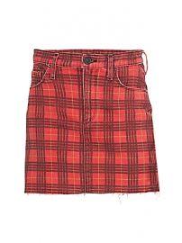 Hudson Jeans - Viper Plaid Mini Skirt at Saks Fifth Avenue