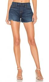 Hudson Jeans Gemma Midrise Cut Off Short in Nightfall from Revolve com at Revolve