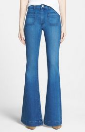 Hudson Jeans and39Taylorand39 High Rise Flare Jeans at Nordstrom