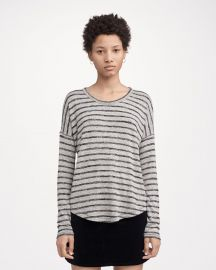 Hudson Long-Sleeve Striped at Rag & Bone