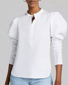 Hudson Puff-Sleeve Top at Bloomingdales