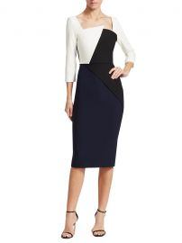 Hughes Contrast-Panel Dress at Saks Fifth Avenue