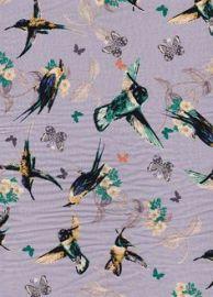 Hummingbird fabric at Stone Fabrics