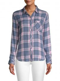 Hunter Plaid Pocket Shirt at Saks Fifth Avenue