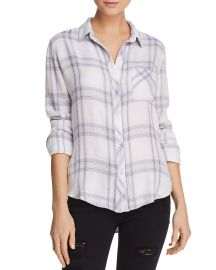 Hunter Plaid Shirt in Raspberry Coast White Rails at Bloomingdales