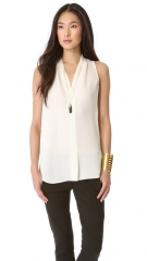 Hylin blouse by Theory at Shopbop