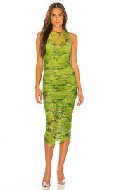 I AM GIA Crescent Midi Dress in Green from Revolve com at Revolve
