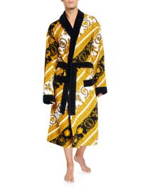 I Heart Baroque Bathrobe by Versace at Neiman Marcus